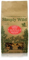 Simply Wild Lamb & Trout Dog Treats (1.1 lb)