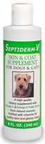 Septiderm-V Skin & Coat Supplement - 8 oz.