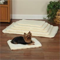 Slumber Pet Double Sided Sherpa Mat Natural - Medium/Large