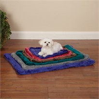 Slumber Pet Plush Mat Gray - Intemediate (26x17 In)