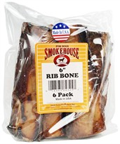 "Smokehouse USA Rib Bones 6"" (6 pack)"