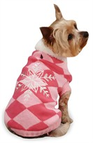 "East Side Collection Snowflake Snuggler Sweaters Pink - S/M (14"")"