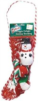 "Zanies Doggie Delight Holiday Stocking 14"" - Snowman"