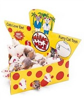 "Spotnips 2"" Furry Mice Cheesebox (60 ct.)"