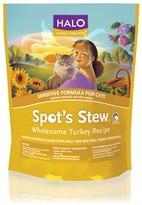 HALO Spot's Stew Wholesome Turkey Dry Sensitive Cat Food (6 lb)