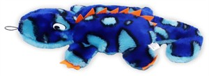 Kyjen Invincibles 2 Squeak Gecko - Blue