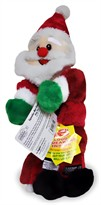 Squeaker Mat Dog Toy - Santa Medium