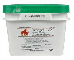 Strongid C 2X Pyrantel Tartrate 2.11% for HORSES (10 lbs)