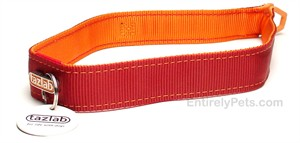 "Tazlab Safe-T-Stretch Collar 16"" (Red Rocks Red)"