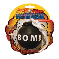 Tuffy's Rugged Rubber Bomb - Medium