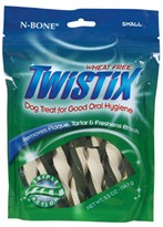 Twistix Wheat Free Dental Treats - Small (5.5 oz.)