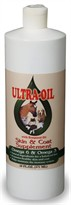 Ultra Oil Skin & Coat Supplement with Hempseed Oil (16 fl. oz.)