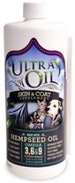 Ultra Oil Skin & Coat Supplement with Hempseed Oil (32 oz)