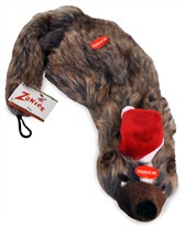 Zanies Holiday Unstuffies - Badger