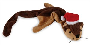 Zanies Holiday Unstuffies - Chipmunk
