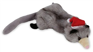 Zanies Holiday Unstuffies - Opossum