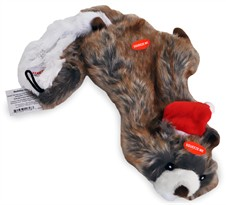 Zanies Holiday Unstuffies - Squirrel