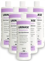 6-Pack URINASE <font color=&quot;#990099&quot;><i> Enzymatic</i></font>  Odor & Spot Eliminator (192 fl oz)