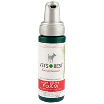 Vet's Best Hot Spot Foam for Dogs (4 oz)