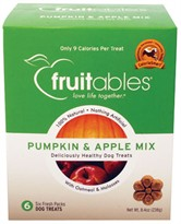Fruitables Dog Treats Pumpkin & Apple 6 count (8.4 oz)