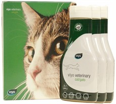 Viyo Veterinary for Cat (3 x 150 ml)