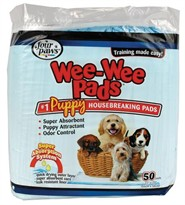 Four Paws Puppy Wee-Wee Pads (50 pack)