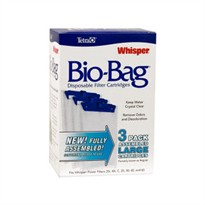 Whisper Assembled Bio-Bag Cartridge Large (3 pack)