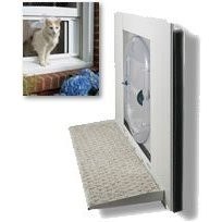 Petsafe - Windoor Extension, Outside Landing