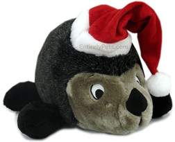 Deluxe Hedgehog with Santa Hat