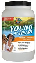 Animal Naturals K9 Young At Heart - Senior Longevity & Anti Aging - 3.6 lbs