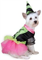 Zack & Zoey Witchy Business Costume Green - SMALL