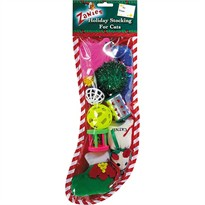 Zanies Holiday Stocking for Cats - 16 Inch