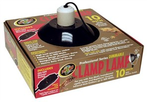 "Zoo Med Dimmable Clamp Lamp with Dimmer Switch (8.5"")"