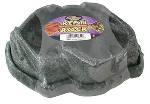 Zoo Med Repti Rock Reptile Food & Water Dishes (Large)