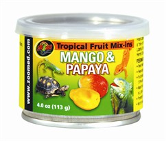 Zoo Med Tropical Fruit Mix-ins Mango & Papaya (4 oz)